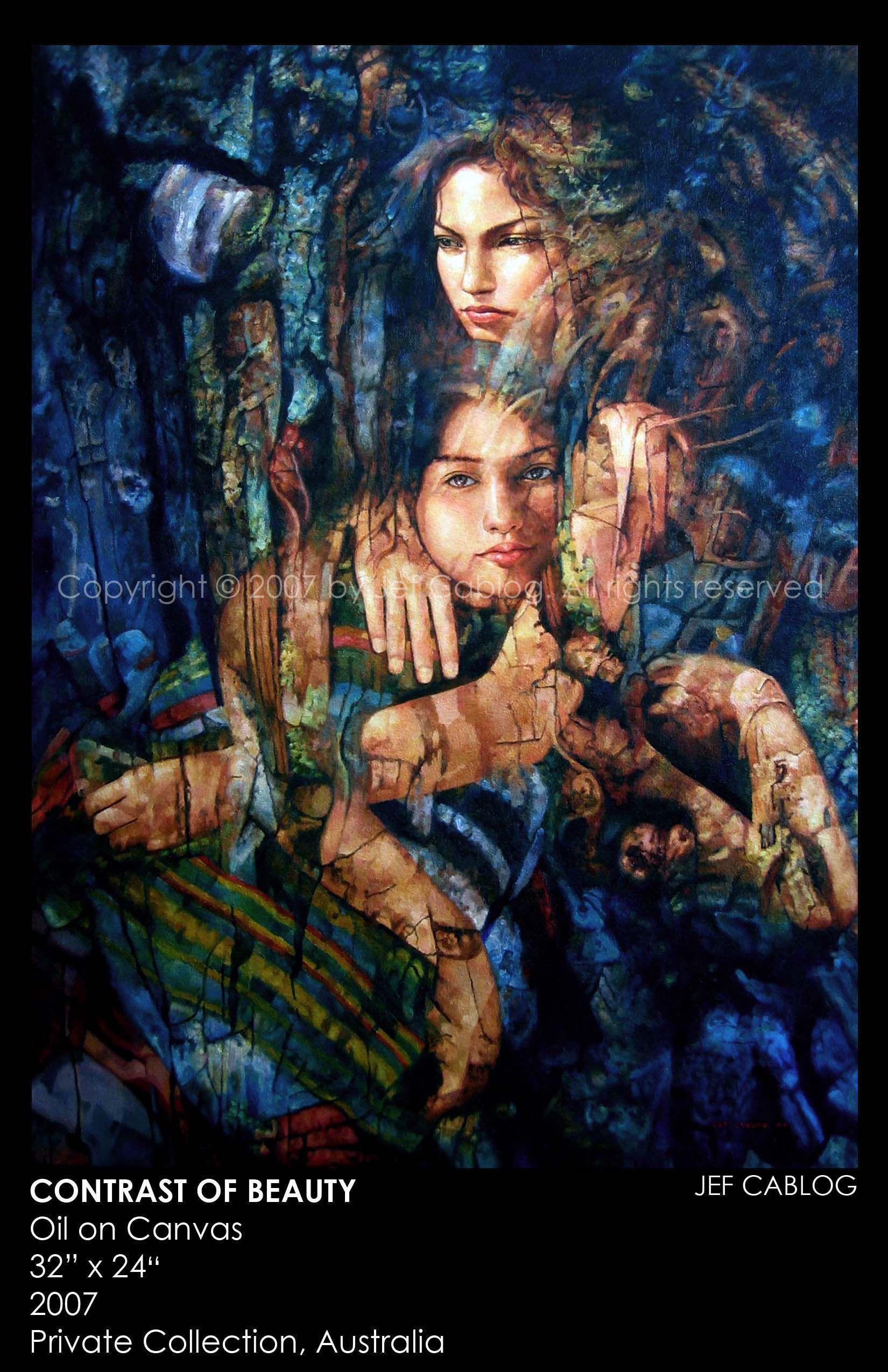 Peintures à l'huile 19982008 L'ART DE JEF CABLOG