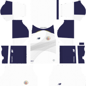 Costa Rica World Cup Kits 2018 Dream League Soccer In 2020 World Cup Kits Soccer Kits World Cup
