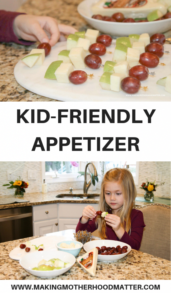 Need a kid-friendly appetizer for parties, holidays, or a family dinner? Find out how to make this easy fruit and cheese mini-kabob finger food kids just can't resist. Get the full recipe for the appetizers with tips and tricks by tapping the link. Visit  Via @PlayLearnConnect @StellaCheese