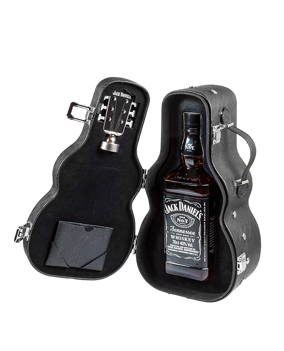 Jack Daniel\'s Old No.7 Guitar Case Gift Pack 70 cl Share | Guitar ...