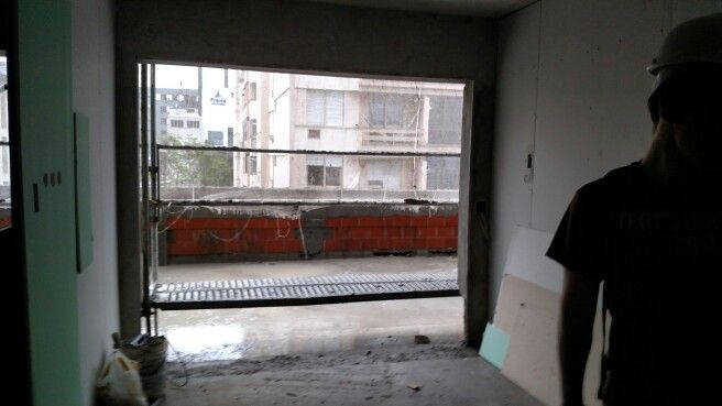 Sala c varanda