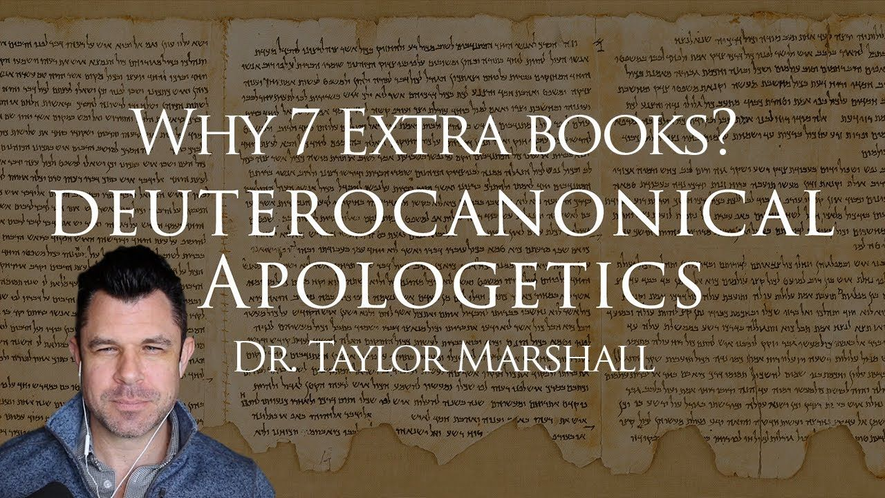 Why 7 Extra Books Of The Catholic Bible Deuterocanonical Apologetics Catholic Bible Apologetics Catholic