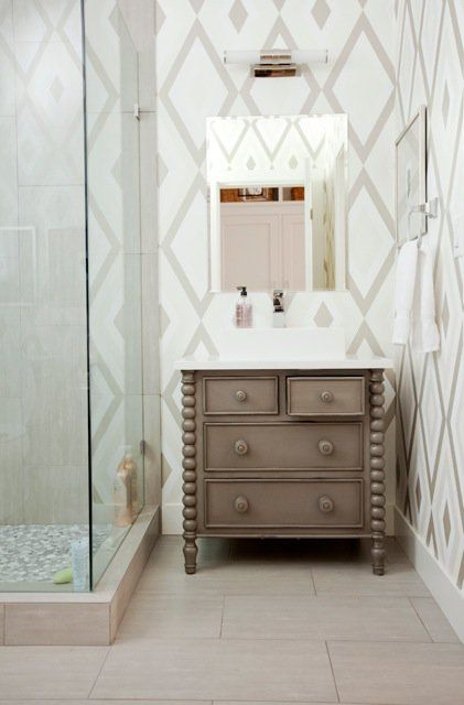 Grapevine Furniture And Design Powder Room Boutique Interior