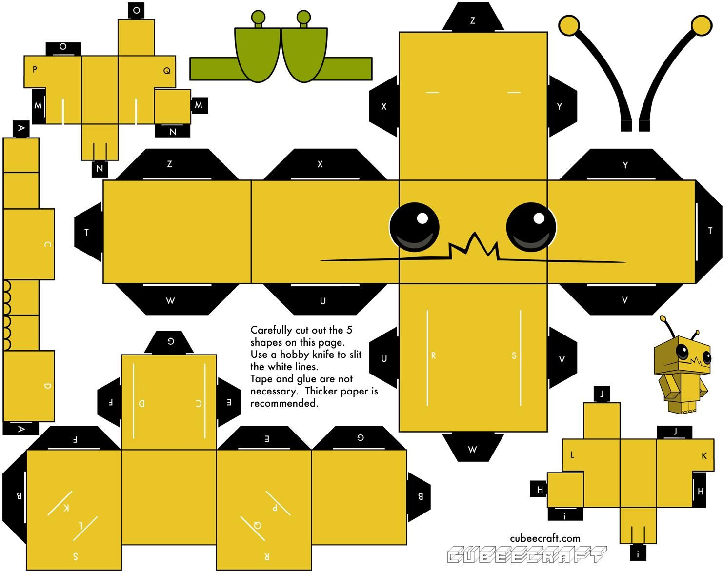 Alien Hominid Papercraft Castle Crashers Paper Crafts Paper Toys Template