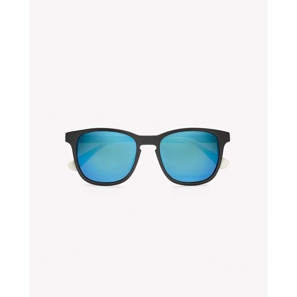 District Sunglasses ($275) ❤ liked on Polyvore featuring accessories, eyewear, sunglasses, black, square wayfarer sunglasses, unisex glasses, unisex sunglasses, wayfarer glasses and wayfarer style sunglasses