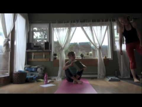 yoga tips with christina sell  bakasana with a launch pad