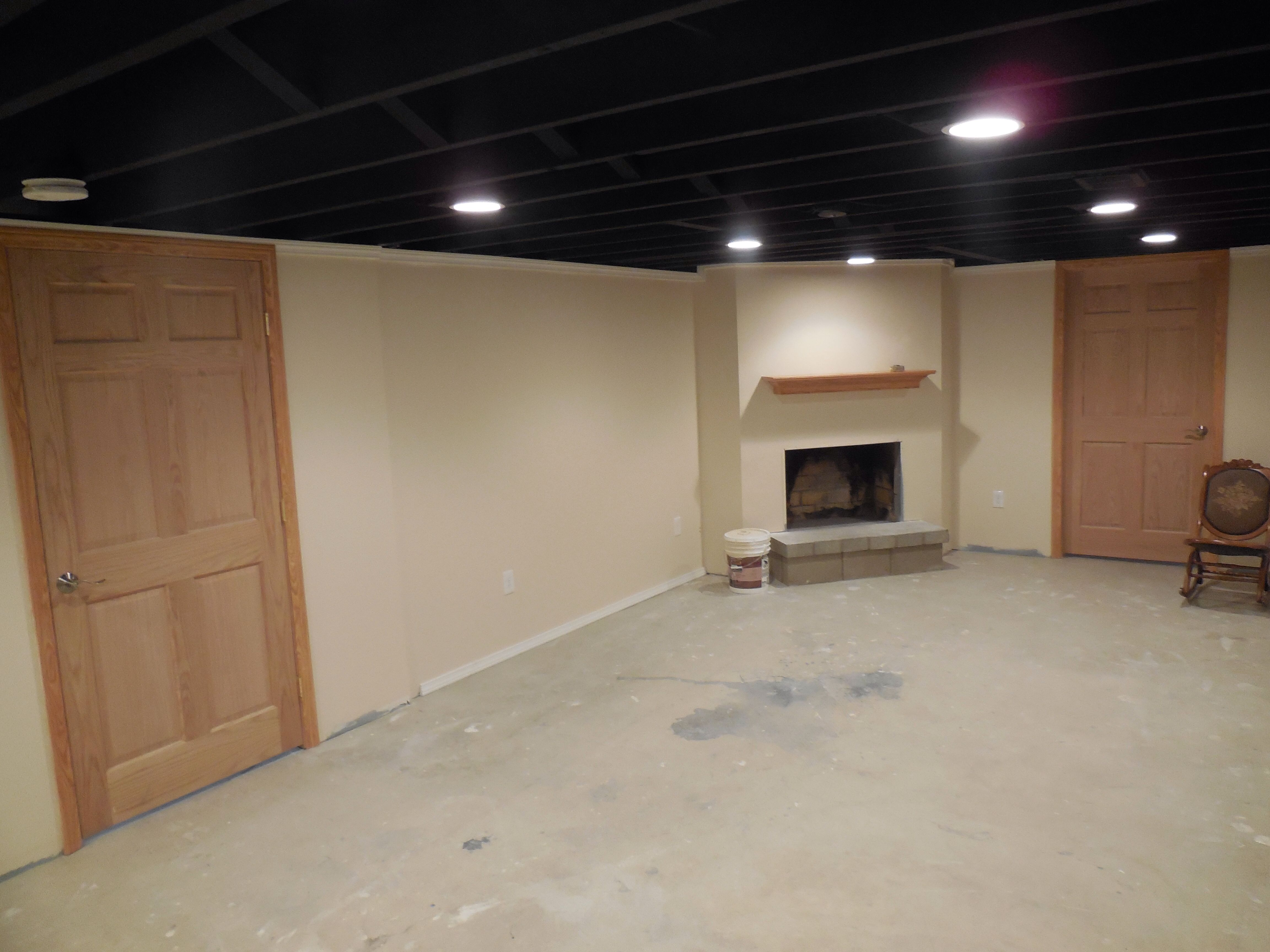 Basement Laundry Room Ideas Unfinished Small