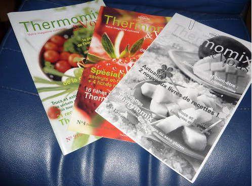 pack de 25 magazine thermomix et vous pdf fr buffet. Black Bedroom Furniture Sets. Home Design Ideas