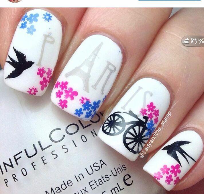 golondrina | manos y uñas | Pinterest | Golondrina