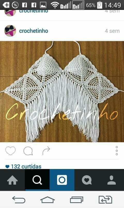 No pattern- just visual inspiration. | Tejidos | Pinterest | Tejido ...