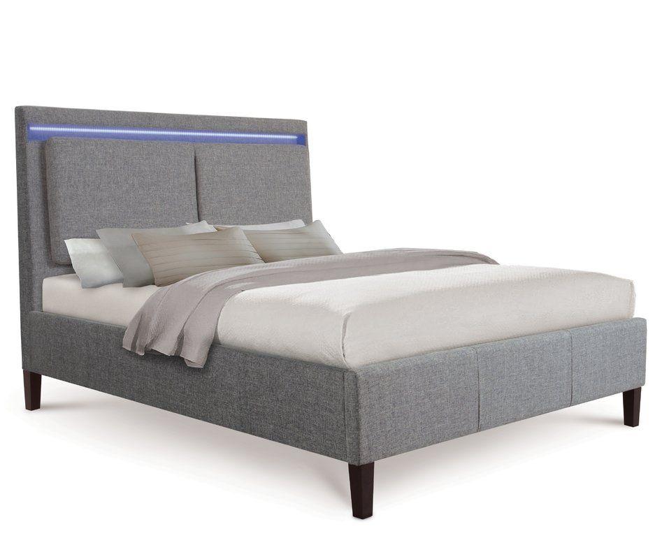 Kip Upholstered Bed Frame | Upholstered bed frame, Upholstered beds ...