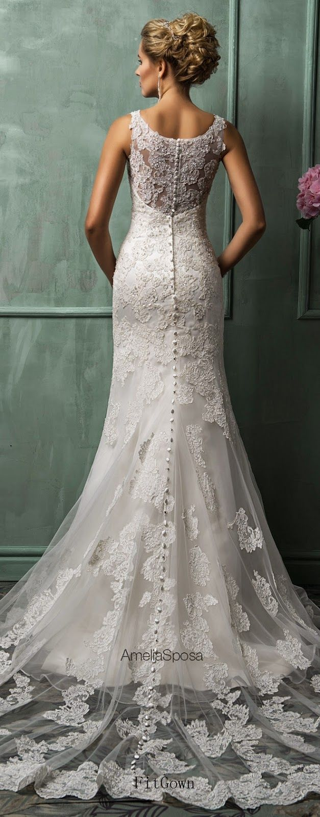gorgeous bride wedding dress | Hochzeitskleid, Braut und ...