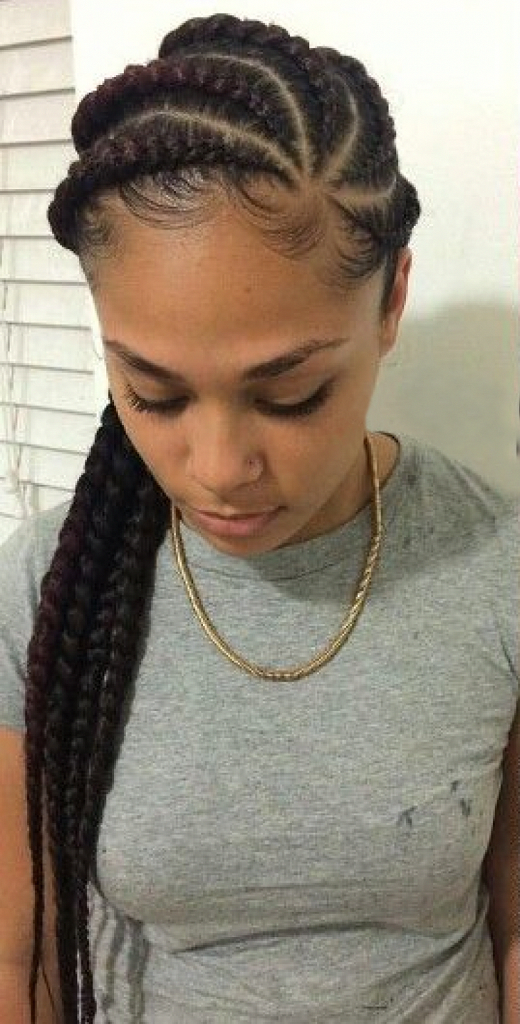 Braids Are Always Easy Pleasant And Of Course One Of The Best Choices For The Cla African Hair Braiding Pictures Natural Hair Styles African Braids Hairstyles