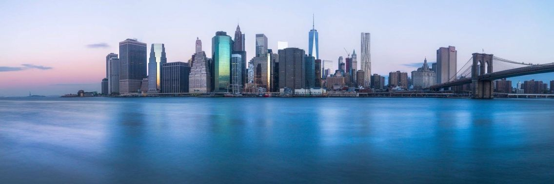 New York by Mike Meuzel II  #manhattan #panoramic #nyc #city #skyline