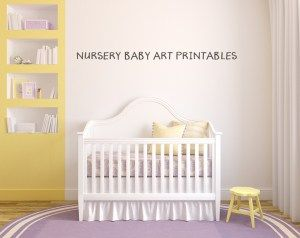 Nursery Printables. Available by clicking on the pic!