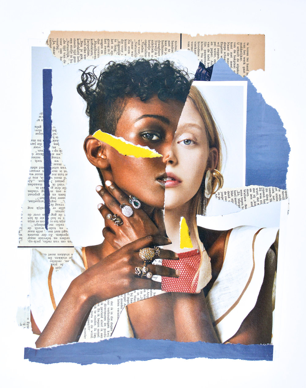 Veerle Symoens Collage Exhibition   Trendland Online Magazine Curating the Web since 2006