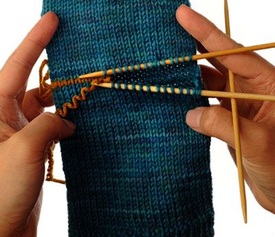 How To Knit An Afterthought Heel For Dummies Patterns