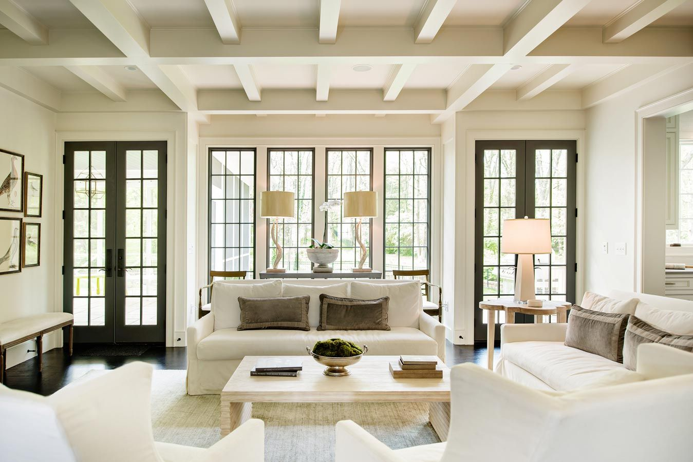 Marvin Swinging French Doors Made A Mark On This 2015 Marvin Architects Challenge Winner Get More Inspiration From Home Gorgeous Houses English Country House