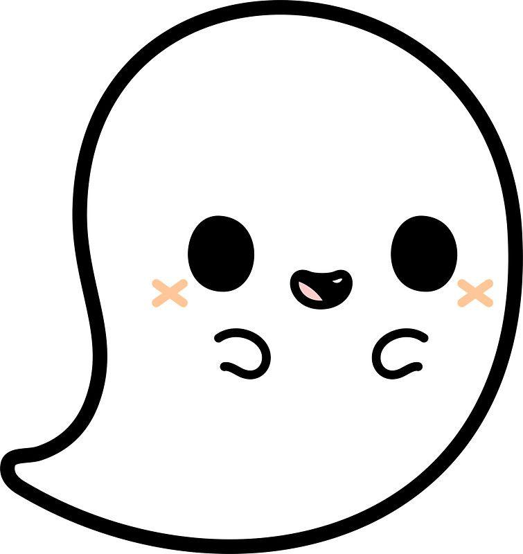 Cute spooky ghost | Cute | Pinterest