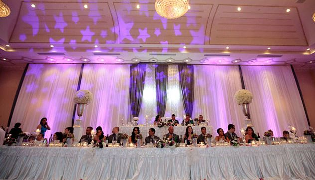 Head Table Decore And Designs Wedding Party