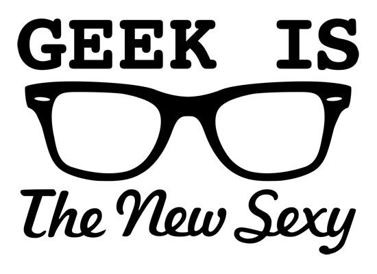 Talk Nerdy to Me Decal // Sticker Geek Nerd Choose Size /& Color