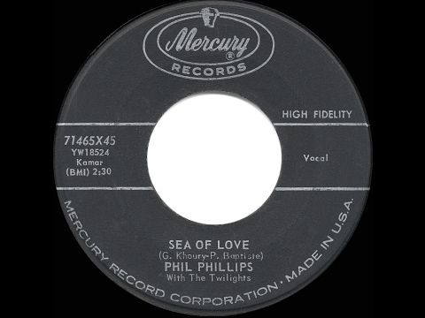 1959 HITS ARCHIVE: Sea Of Love - Phil Phillips - YouTube