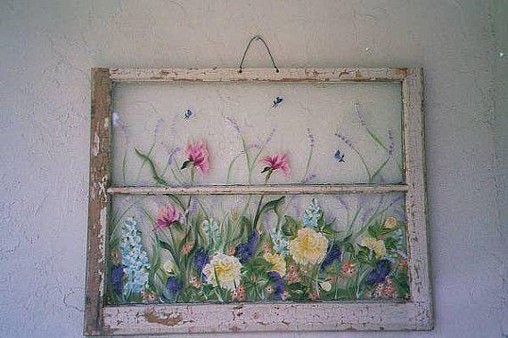 Ventanas viejas pintado viejo Windows Windows todas las