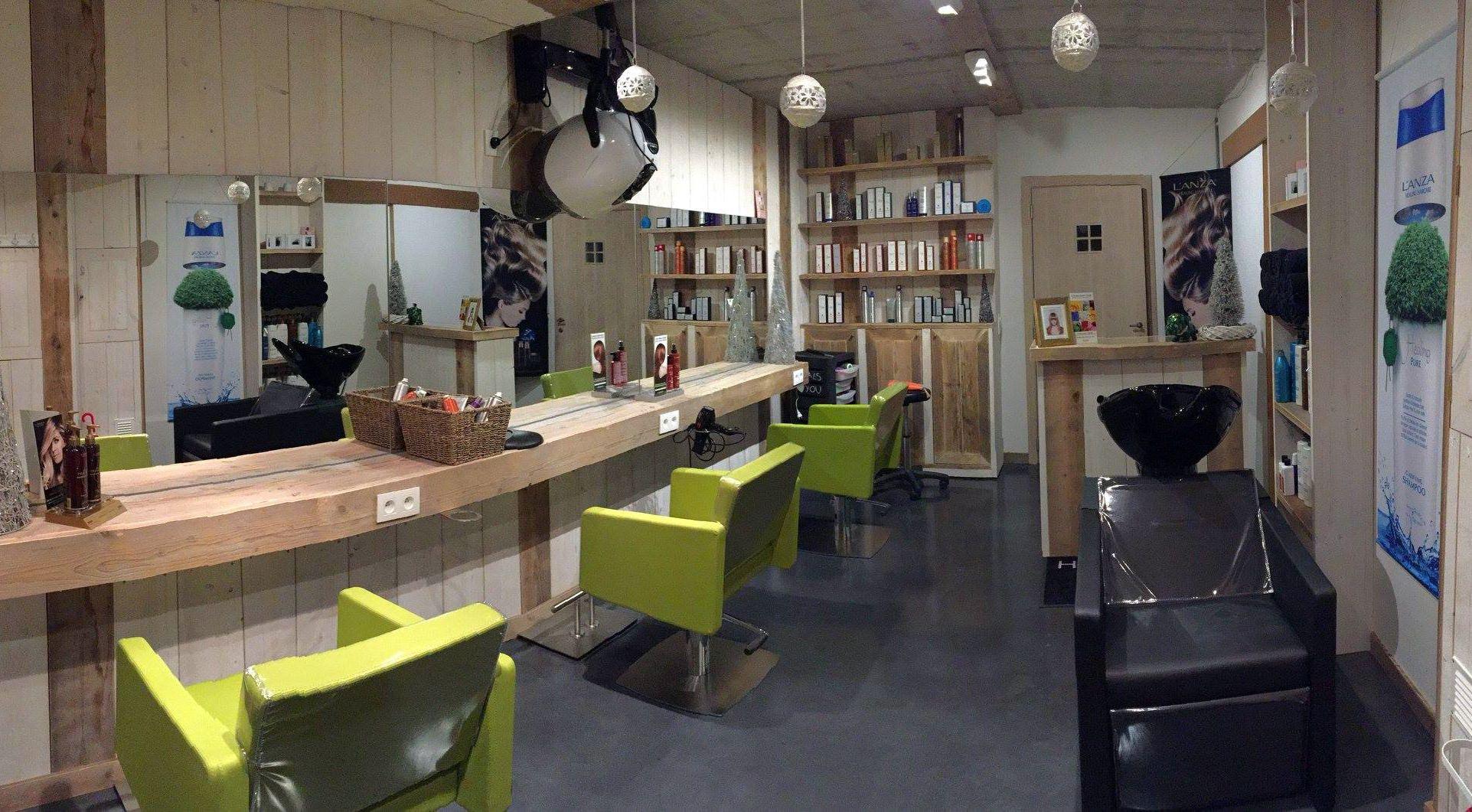 Salón Hairsalon do en Bélgica.  A través de JJ Maes