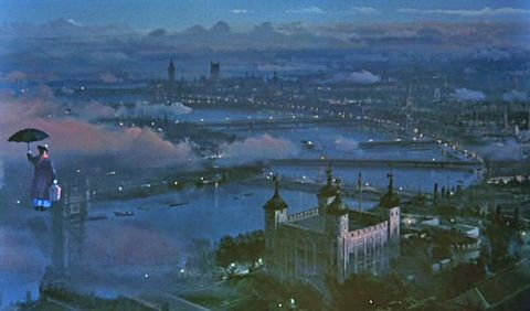 Mind-Blowing Matte Paintings From Classic Movies Mary poppins - matte painter sample resume