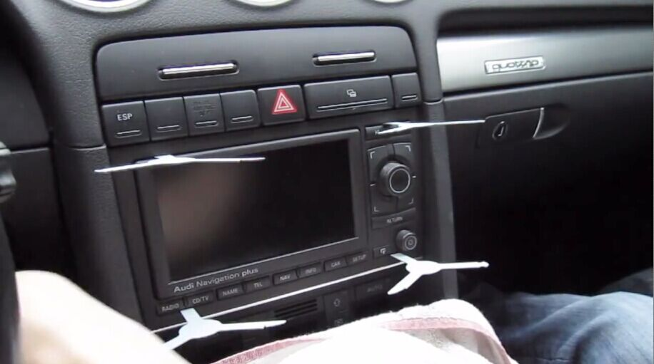 How to upgrade 2002-2008 Audi A4 Radio with dvd GPS touch screen