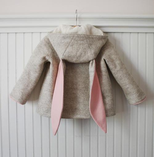 Little Goodall Snowshoe Rabbit Coat