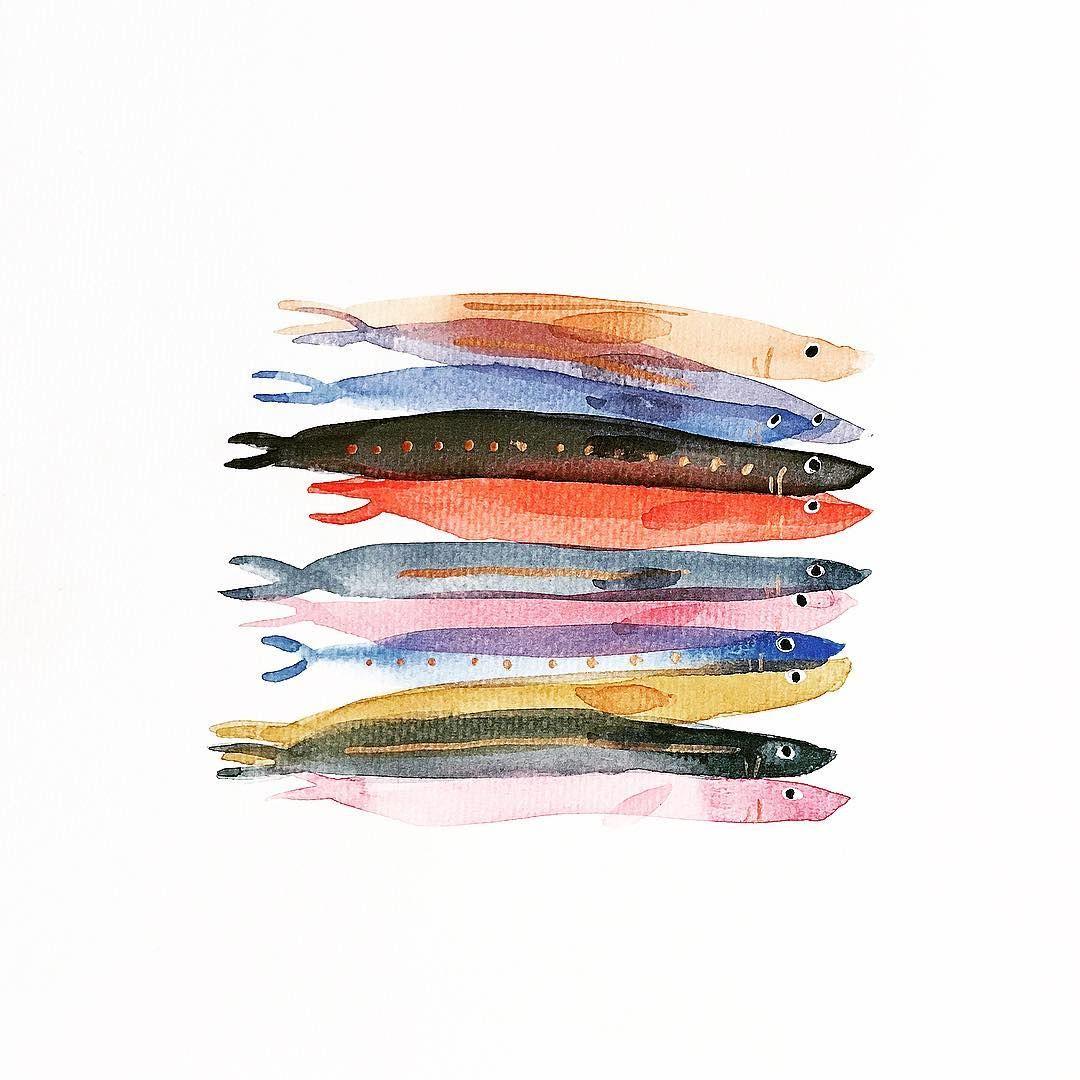 Pin Op Watercolor Illustration Ideas