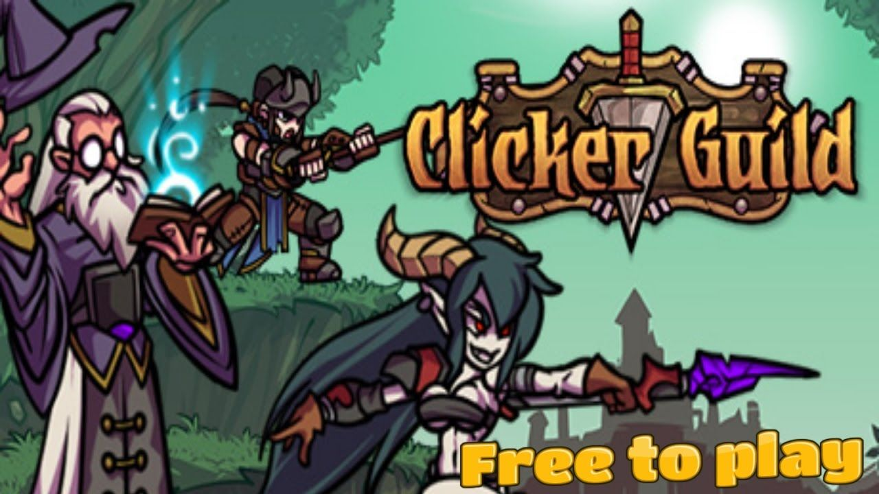 Clicker Guild free to play clicker Game Free to play