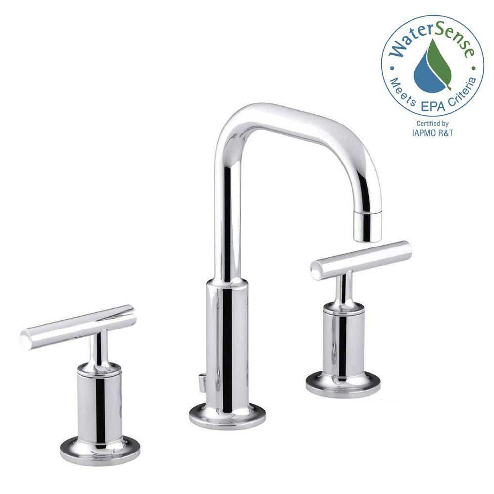 Kohler Purist 8 In Widespread 2 Handle Low Arc Water Saving
