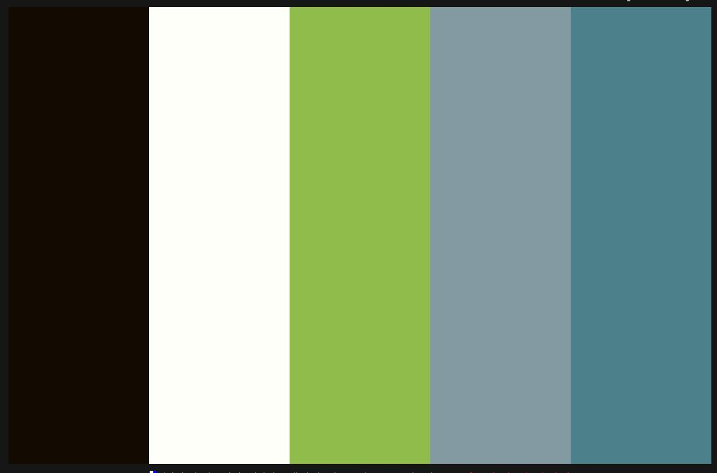 Color scheme- Black and White curtains, gray walls, teal and lime green accents