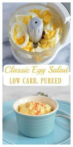 Pureed Classic Egg Salad Recipe With Images Soft