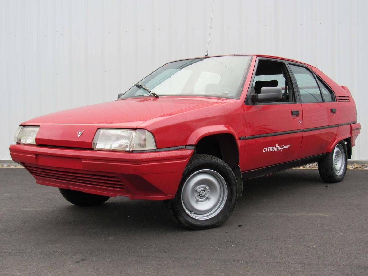 Rare Rides There's a 1991 Citroën BX 14 in Maine