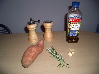 Kuchári len tak z pasie ...: Sladký zemiak s parmezánom