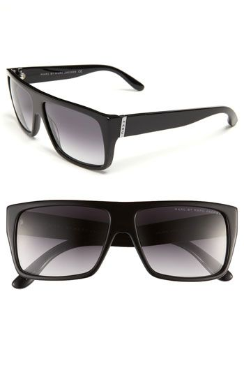6c6ea8b4de6 Free shipping and returns on MARC BY MARC JACOBS 57mm Sunglasses at  Nordstrom.com. Squared-off gradient lenses nestle in the thick frame of  vintage-inspired ...