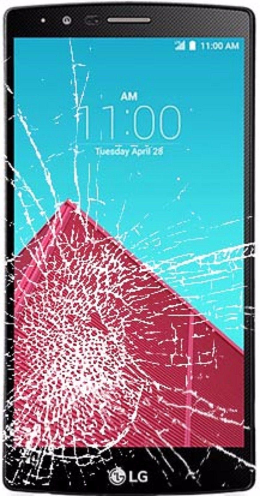 LG G4, G3 Cracked Broken Glass Screen Repair Service