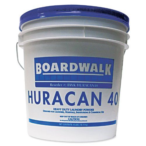 Boardwalk Huracan40 Low Suds Laundry Detergent Powder Fresh