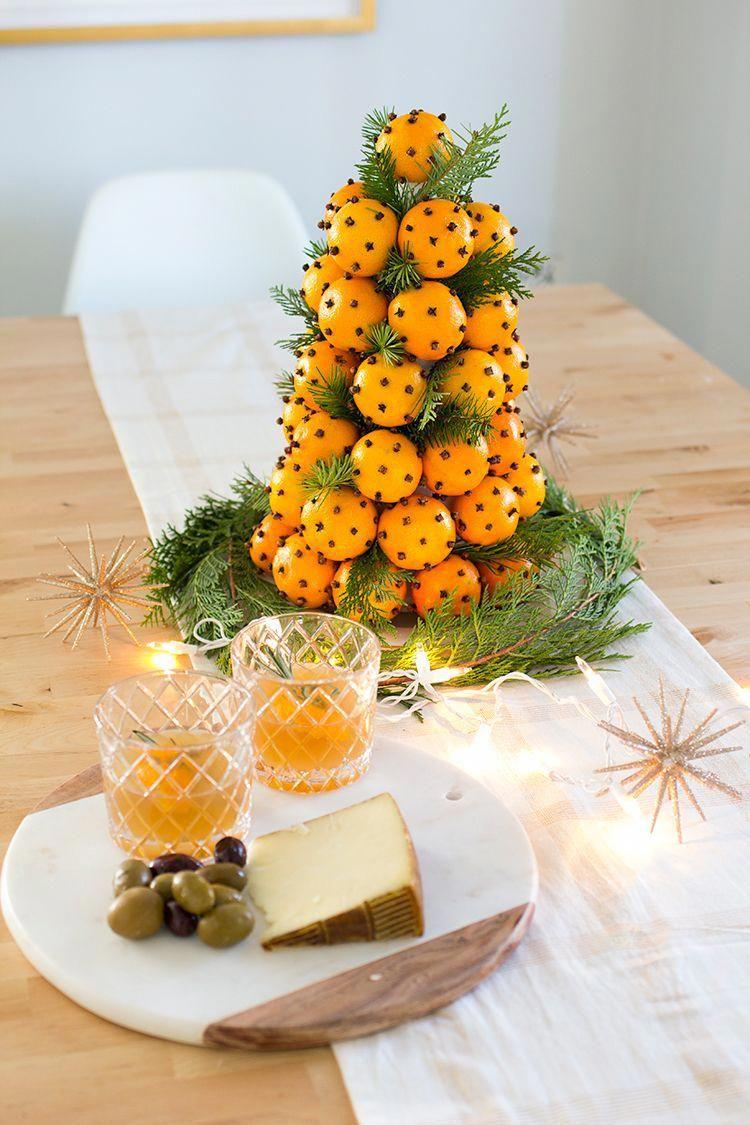 20+ Surprenant Décorations de Noël Avec des Matières