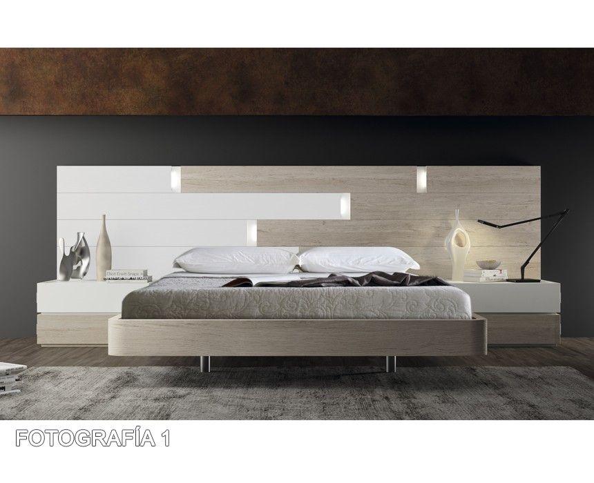 Composici n dormitorio moderno 74 dormitorios modernos - Muebles casal valencia ...