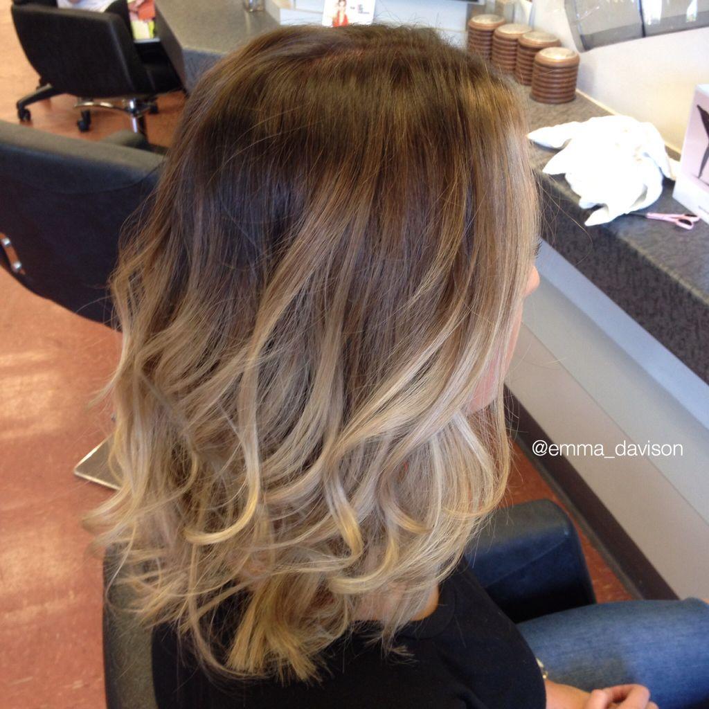 Ballayage Blond intérieur gorgeous ombre / ballayage ✨ | hair | pinterest | ombre, hair style
