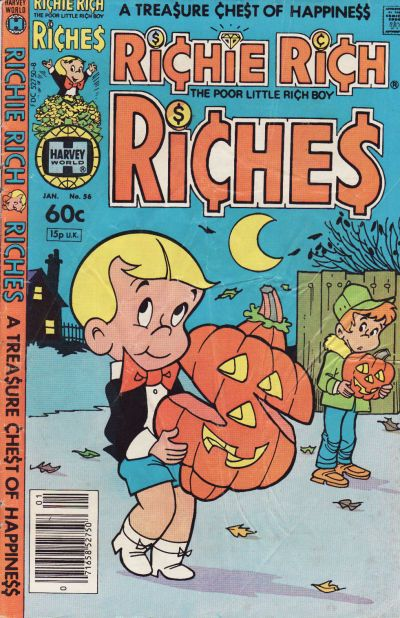 Cover for Richie Rich Riches (1972 series) #56