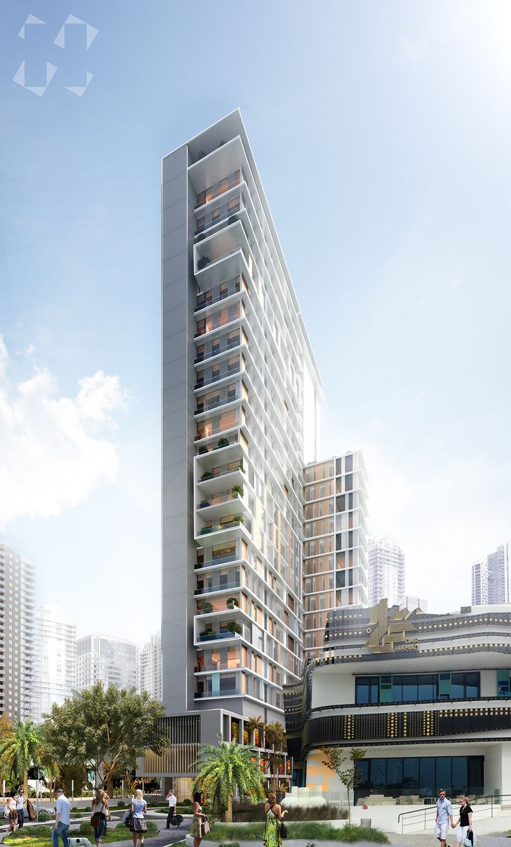 A high rise residential building proposal created for for Residential architecture design