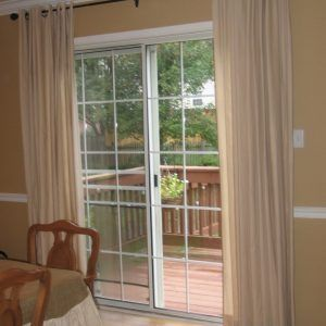 Insulated Sliding Glass Door Blinds