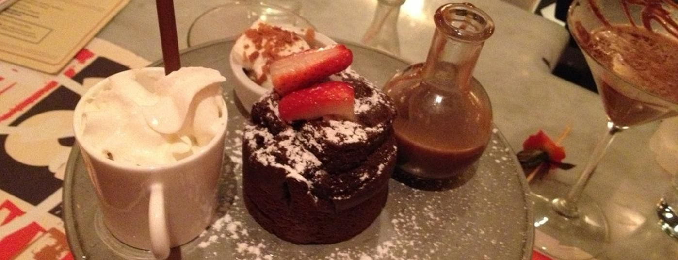 Max Brenner is one of The 15 Best Places for a Hot Chocolate in New York City.