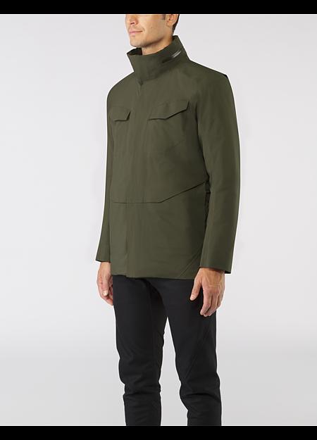 Field Is Jacket Men S A Trademark Veilance Piece That Is Fully Waterproof