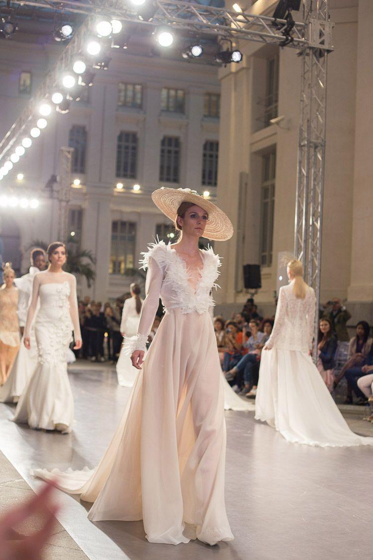 {Las novias de Juana Martín Primavera/Verano 2018 en la Madrid Bridal Week}